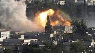 getlinkyoutube.com-صاروخ أرض أرض على حي جوبر يهز دمشق- أخبار الآن