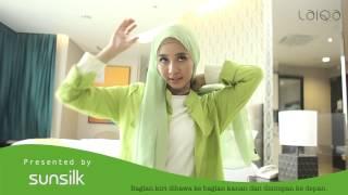 "getlinkyoutube.com-Tutorial Hijab by Laudya Cynthia Bella ""Fresh Drapery Look"""