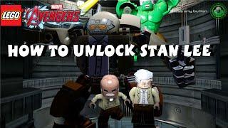 getlinkyoutube.com-Lego Marvel Avengers  - How to Unlock Stan Lee - All 35 Stan Lee in Peril Locations -  1080P HD