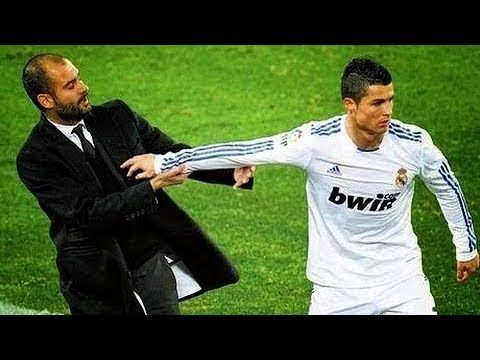 The Dirty Side Of El Clasico - Fights, Fouls, Dives & Re