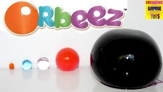 getlinkyoutube.com-Learn Sizes with ORBEEZ Magic Scented Water Balls I Kids Backpack Surprise Toys