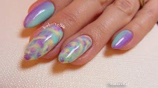 getlinkyoutube.com-Hybrydy: Pastelowe dmuchance oraz ombre - Semilac 001, 022, 023, 035 - Basevehei