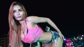 getlinkyoutube.com-DJ Men Enjoy Car Audio Show With Coyote Dancers 2014 File 01A
