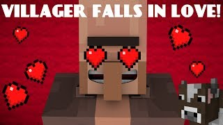 getlinkyoutube.com-If A Villager Fell In Love - Minecraft