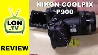 getlinkyoutube.com-Nikon Coolpix P900 Review - Digital camera with a mega zoom !