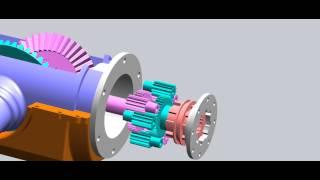 getlinkyoutube.com-Differential - heavy trucks, independent suspension axles, basic principle