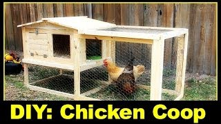 getlinkyoutube.com-DIY: Small Backyard Chicken Coop Part 1