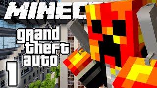 getlinkyoutube.com-COPS, MONEY, GUNS & THUGS! - Grand Theft Auto - #1 (Minecraft GTA)