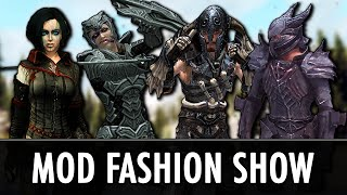 getlinkyoutube.com-Skyrim Mods: Armour Fashion Show