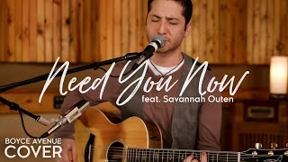 getlinkyoutube.com-Need You Now - Lady Antebellum (Boyce Avenue feat. Savannah Outen acoustic cover) on Apple & Spotify