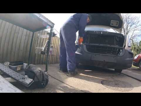 How to remove the front face VW Crafter 2 5 снять переднию морду VW Crafter 2 5
