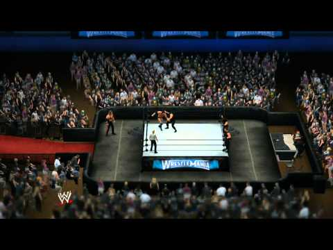THE OUTSIDERS VS THE SHIELD (WWE 2K14)