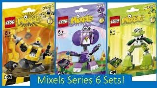 getlinkyoutube.com-LEGO Mixels SERIES 6 Official Set Pictures/Images!