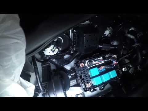 Защита от угона Lexus LX 450 D Защита ЭБУ