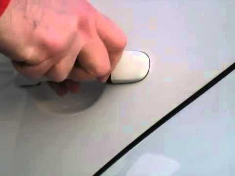 Трафаретный способ вскрытия задних дверей Volkswagen Golf/Jetta
