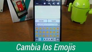 getlinkyoutube.com-Emoji Switcher - Cambia los emojis del sistema en Android