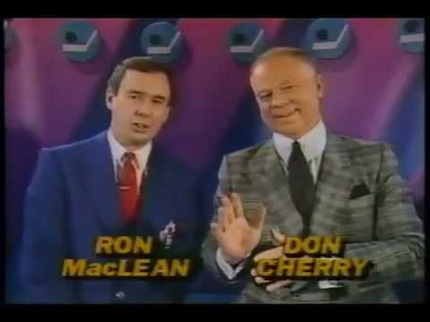 Coach's Corner - Classic Don Cherry Clips