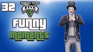 getlinkyoutube.com-GTA 5 Online Funny Moments Ep. 32 (Business DLC, H2O Vs Lui, Zombie)