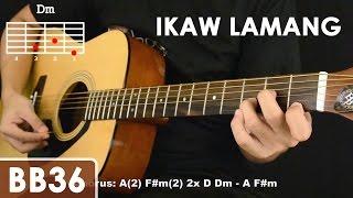 getlinkyoutube.com-Ikaw Lamang - Silent Sanctuary Guitar Tutorial (cello mute effect, chords, strumming)