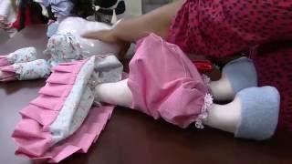 getlinkyoutube.com-Mulher.com 22/08/2014 - Boneca Melaine por Silvia Torres - Parte 2