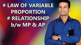 PRODUCTION, LAW OF VARIABLE PROPORTION - CLASS XII & CA-CPT - By NARESH MALHOTRA