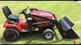 TORO WHEEL HORSE 520LXI Riding Lawn Mower Tractor