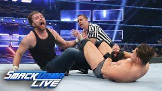 getlinkyoutube.com-Dean Ambrose vs. The Miz - Intercontinental Title Match: SmackDown LIVE, Dec. 6, 2016