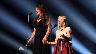 getlinkyoutube.com-Jackie Evancho   Sarah Brightman Time to Say Goodbye on America's Got Talent FINALE - YouTube.mp4