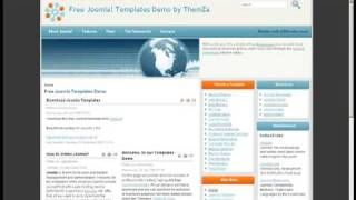 'Rise of Technology' Free Joomla 1.5 Template (Video Tutorial) view on youtube.com tube online.