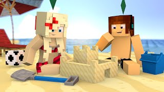getlinkyoutube.com-Minecraft : FOMOS PARA PRAIA !! - The Sims Craft Ep.230