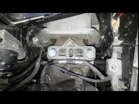 VW Golf IV Mk4 (BCA) - Люфт левой опоры двигателя