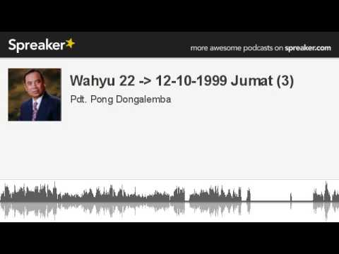 Wahyu 22 - 12-10-1999 Jumat (3) (made with Spreaker)