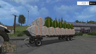 getlinkyoutube.com-Farming simulator 15 | #20 Présentation des mods | Plateau automatique! | Fliegl DPW 180 automatic !
