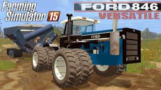 getlinkyoutube.com-Farming Simulator 2015 mod tractor FORD VERSATILE 846