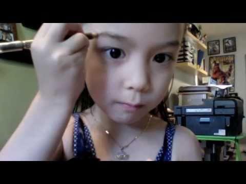 小女孩彩妆教學 超可愛!