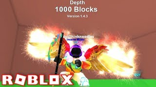 NEW MYTHICAL PETS + HATS - BELOW 1000+ BLOCKS!! | ROBLOX Mining Simulator