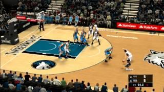 getlinkyoutube.com-NBA 2K16 Oklahoma City Thunder vs Minnesota Timberwolves PS3 HD