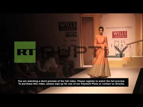 India: Traditional meets Western at Fashion Week
