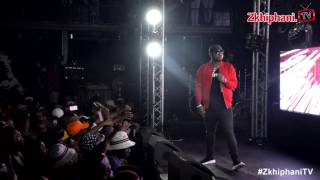 Cassper performs I WASN'T READY FOR YOU at Zone 6