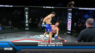 getlinkyoutube.com-Chinzo Machida Lands A Flying Knee You HAVE to See at RFA 11!