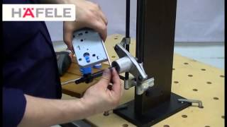 getlinkyoutube.com-Festool Install Mortise lock