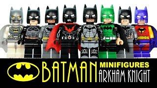 getlinkyoutube.com-Batman Arkham Knight + Mini-Builds LEGO KnockOff Minifigures Set Review