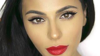getlinkyoutube.com-How To: Winged Eyeliner for Deep Set Eyes | Eye Makeup Tutorial | Teni Panosian
