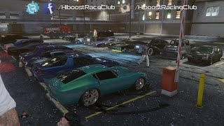 getlinkyoutube.com-Grand Theft Auto V Online (XB1) | Classic Car Meet | Turbo Ruiner, LS River Drags & More