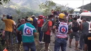 Tragic Bus Accident in Carranglan, Nueva Ecija on April 18 2017