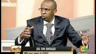 Cheche Interview with Ahmednassir Abdullahi-Commissioner,JSC Part 5
