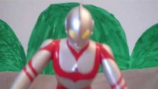 getlinkyoutube.com-Godzilla and Ultraman SOS (Read description)