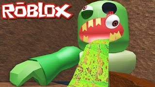 getlinkyoutube.com-Roblox Adventures / Escape the Subway Obby / Escaping the Giant Evil Zombie!