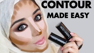 getlinkyoutube.com-CONTOURING MADE EASY - STEP BY STEP CONTOUR TUTORIAL