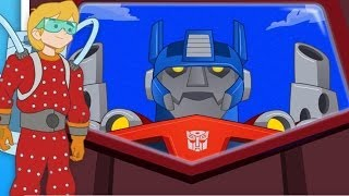 getlinkyoutube.com-Transformers Rescue Bots: Sky Forest Rescue | Top Best Apps For Kids